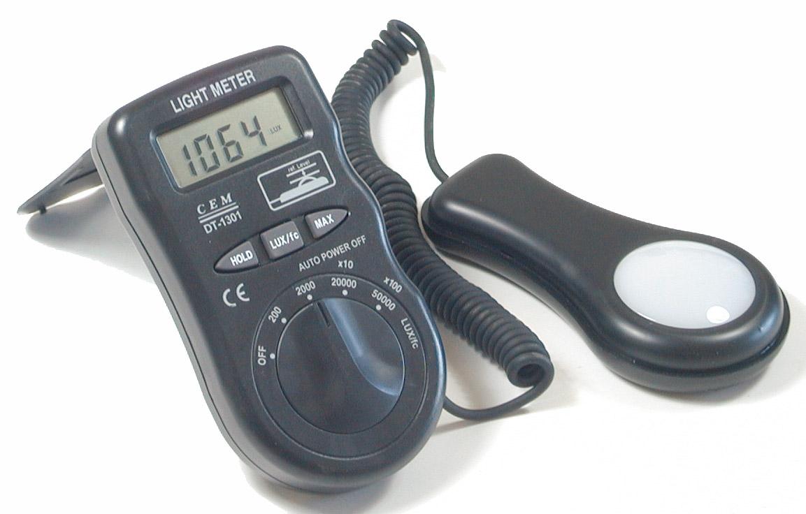 electronics dt 1301 digital lcd luxmeter lux foot candle light meter. Black Bedroom Furniture Sets. Home Design Ideas