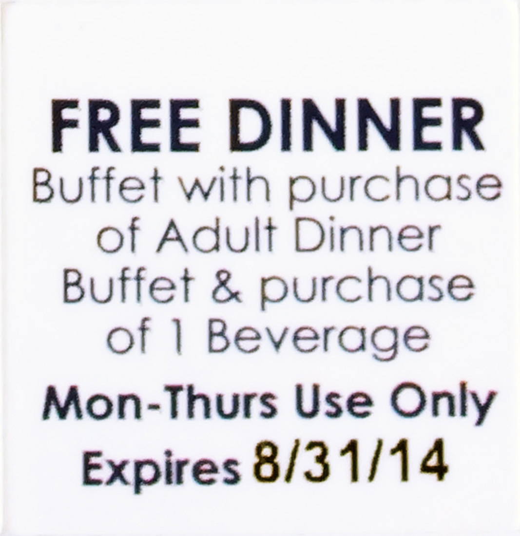 photo relating to Hometown Buffet Printable Coupons identified as Ruby Electronics: