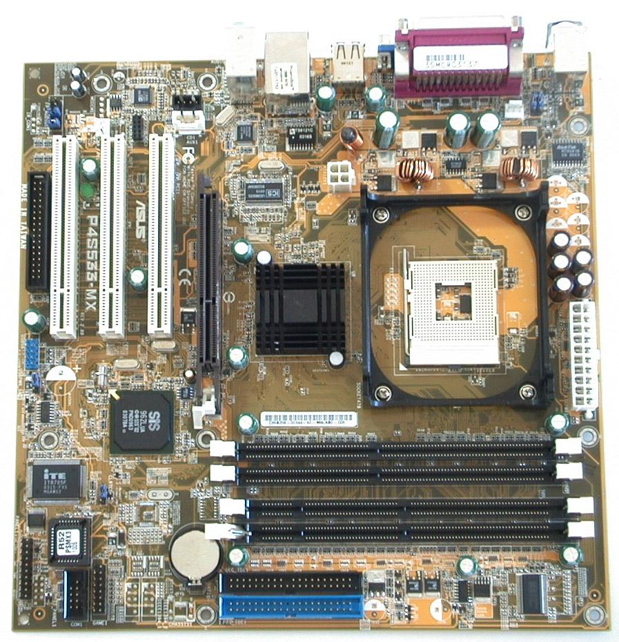 Asus P4S533-MX User Manual
