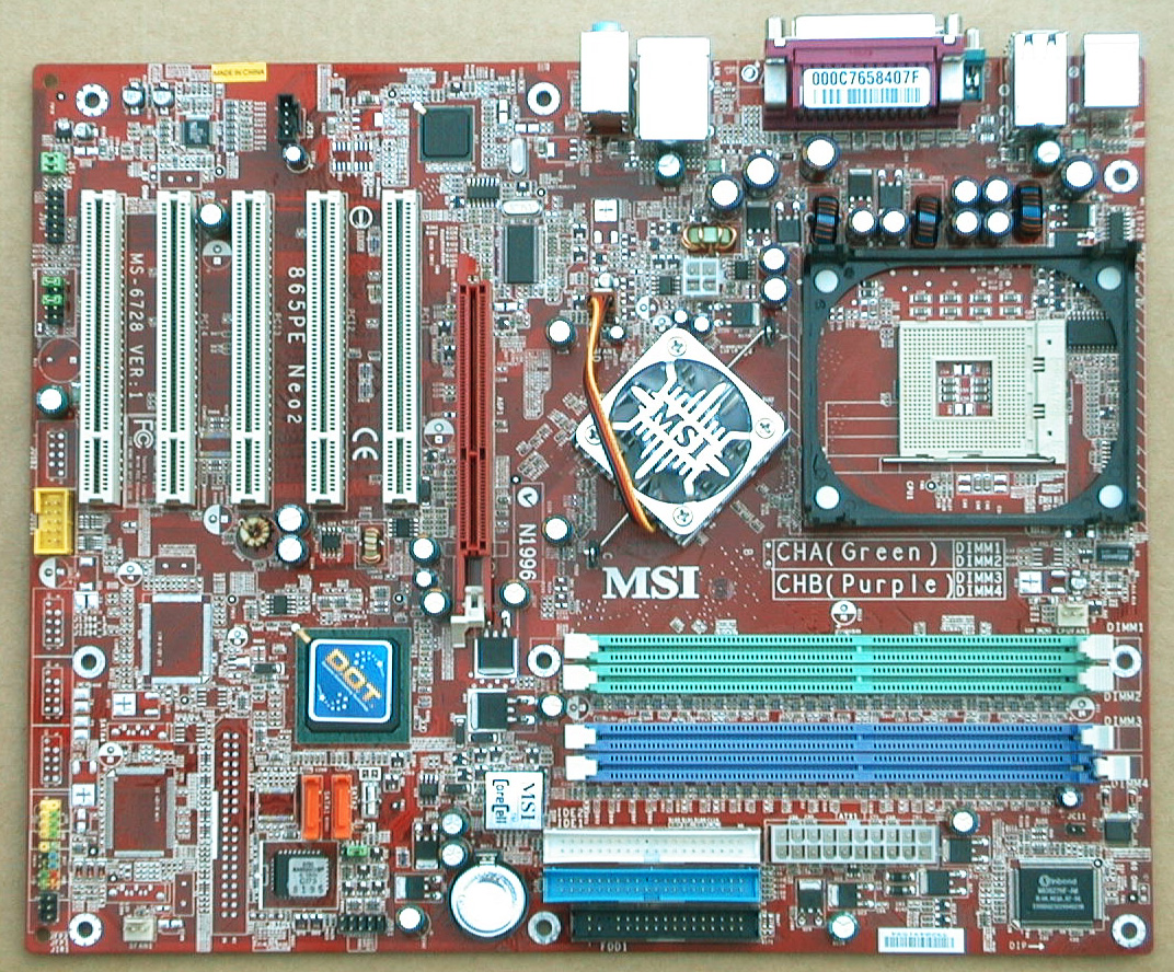 MSI PE Neo2-PFS - motherboard - ATX - Socket - iPE Series Specs